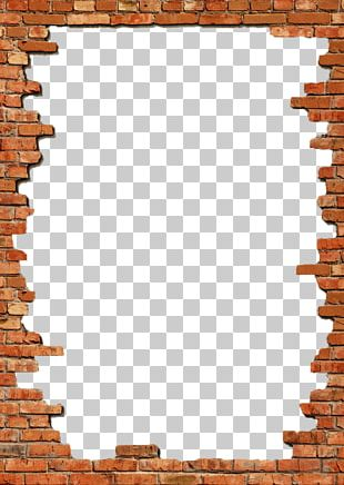 Brick Frames Wall Stock Photography PNG
