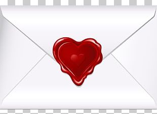 Envelope Valentines Day Heart PNG
