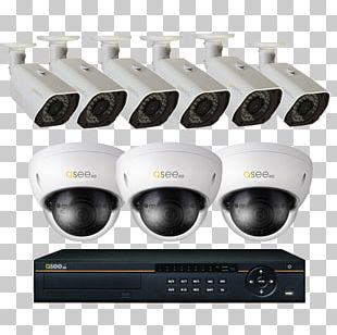 4MP IP BULLET CAMERA WITH 100FT Hikvision DS-2CD2142FWD-I Qsee Qcn8030d 4 Mp 1080p High Definition Ip Network Dome Camera 100fe Network Video Recorder PNG