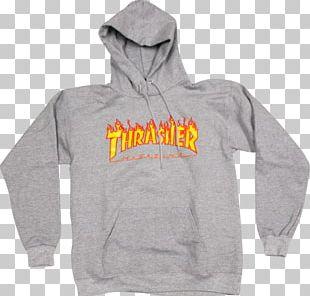 Hoodie T-shirt Thrasher Clothing PNG