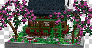 South Korea Tree Temple Cherry Blossom Lego Ideas PNG