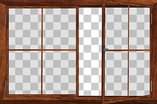 Window Glass Frame PNG