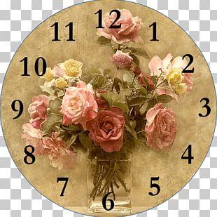 Clock Face Decorative Arts Decoupage Frames PNG