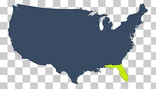 United States Map African American Black PNG