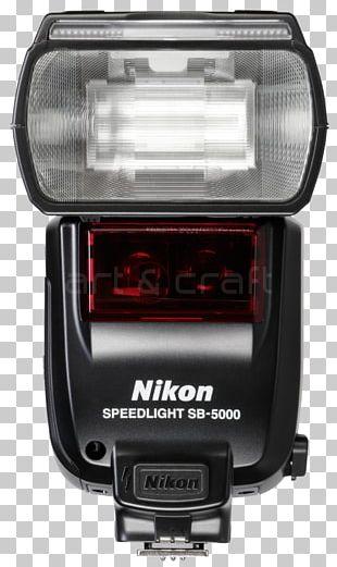 Camera Flashes Nikon Speedlight SB-5000 Nikon D7500 PNG
