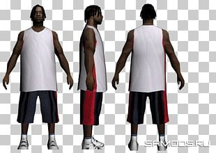Grand Theft Auto: San Andreas T-shirt Mod Low Poly Los Santos PNG
