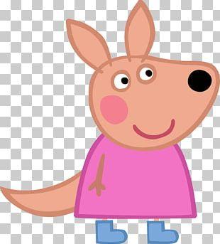 Mummy Pig Granny Pig Kylie Kangaroo PNG