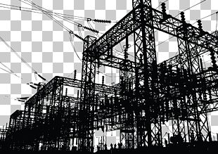 Electricity Power Station Electric Power Electrician PNG