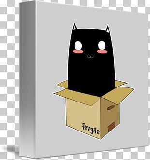 Black Cat Box Industrial Design PNG
