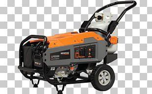 Engine-generator Generac Power Systems Electric Generator Generac LP5500 Propane PNG