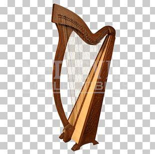 Celtic Harp Musical Instruments String Instruments PNG