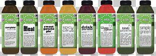 Juice Fasting Organic Food Detoxification Juice Press PNG