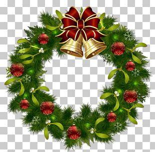Wreath Christmas Garland PNG