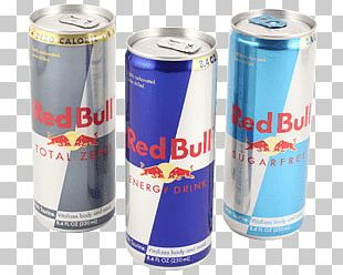 Red Bull 3 Cans PNG