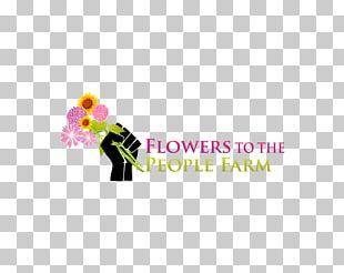 Flower Farm Petal Logo PNG