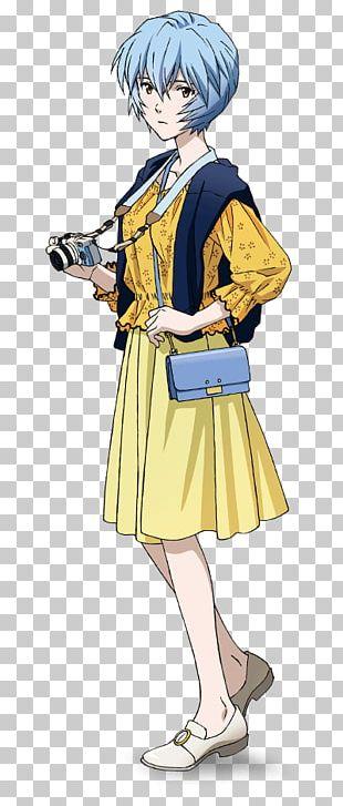 Rei Ayanami Asuka Langley Soryu Shinji Ikari Yui Ikari Anime PNG