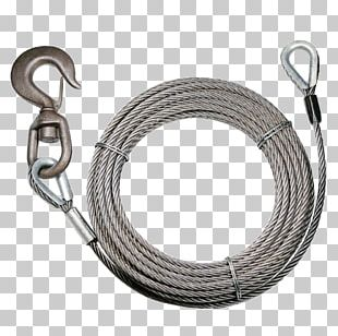 Wire Rope Swivel Electrical Cable Tow Truck PNG