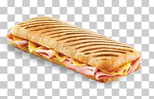 Panini Ham And Cheese Sandwich Omelette PNG
