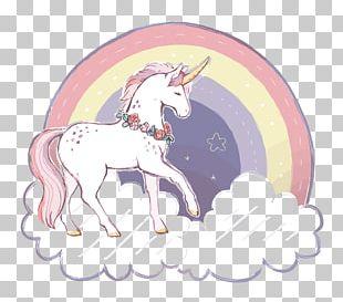Unicorn Rainbow PNG