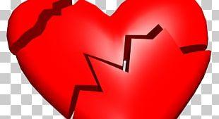 Broken Heart Breakup Love Interpersonal Relationship PNG