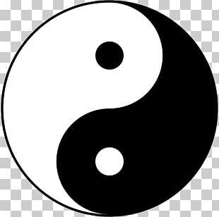 Yin And Yang Symbol Taijitu Unity Of Opposites PNG