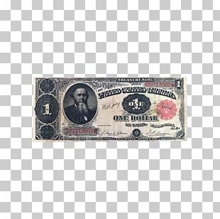 United States One-dollar Bill Silver Certificate Banknote United States Dollar PNG