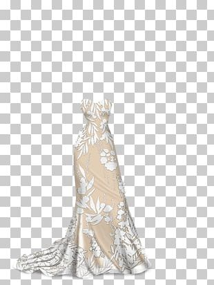 Lady Popular Wedding Dress Gown XS Software PNG