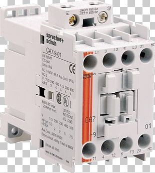 Circuit Breaker Contactor Electrical Network Mains Electricity CNW PNG