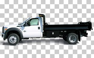 Ford F-550 Car Dump Truck Galion Godwin Truck Body Co. PNG