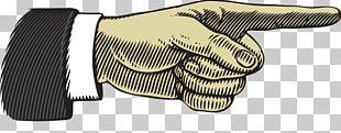 Index Finger Pointing Illustration PNG