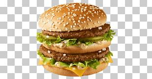 McDonald's Big Mac Cheeseburger Hamburger Fast Food McDonald's Quarter Pounder PNG