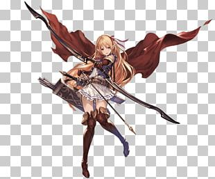 Shadowverse Granblue Fantasy Character Concept Art PNG