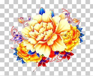Chrysanthemum Indicum Floral Design Flower Gratis PNG
