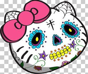 La Calavera Catrina Hello Kitty Day Of The Dead Death PNG