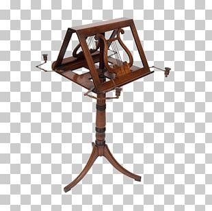 Music Stand Furniture Table PNG