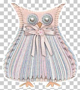 Owl Pink M RTV Pink PNG
