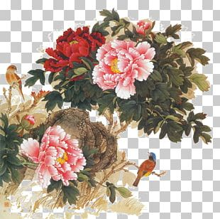 Chinese Painting Flower Japanese Art Japanese Painting PNG