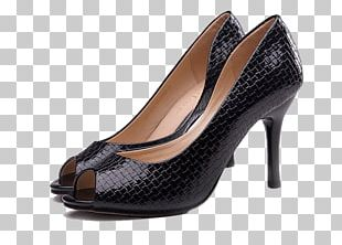 High-heeled Footwear Dress Shoe Leather PNG