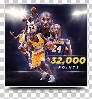 Kobe Bryant Los Angeles Lakers Sport NBA Basketball PNG