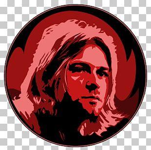 Kurt Cobain Nirvana Character Font PNG