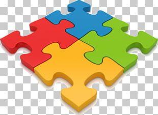 4 Puzzle Pieces PNG