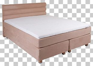 Bed Frame Box-spring Mattress Bedroom PNG
