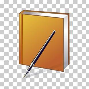 Book Pen Paper PNG