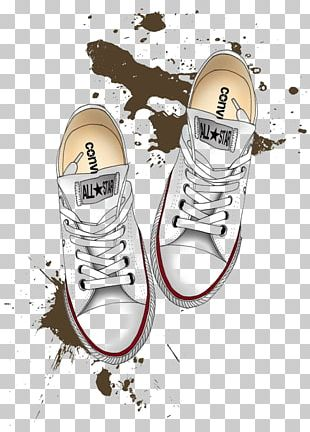 Converse Drawing Shoe Chuck Taylor All-Stars Illustration PNG