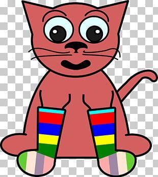 Cat T-shirt Graphics Cartoon Sock PNG