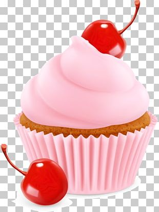 Cupcake Ice Cream Muffin Fruit PNG