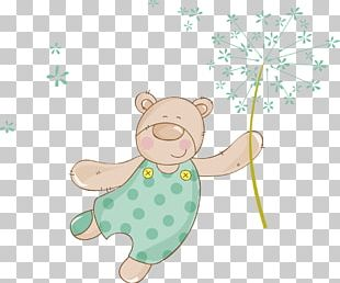 Creative Cartoon Bear PNG
