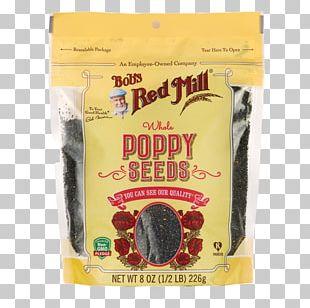 Bob's Red Mill Poppy Seed Bread Flour Gluten-free Diet PNG