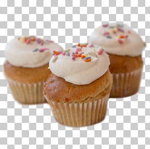 Cupcake Petit Four Muffin Buttercream Frozen Dessert PNG
