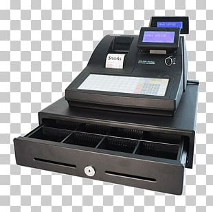 Cash Register Point Of Sale Computer Money Barcode Scanners PNG